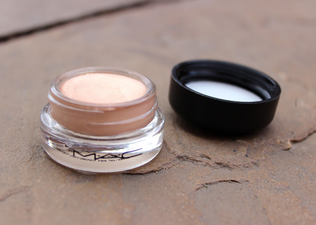 A picture of mac paint pot in the colour bare study