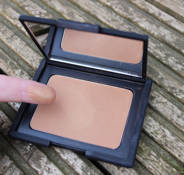 a picture of Nars Laguna bronzer swatched