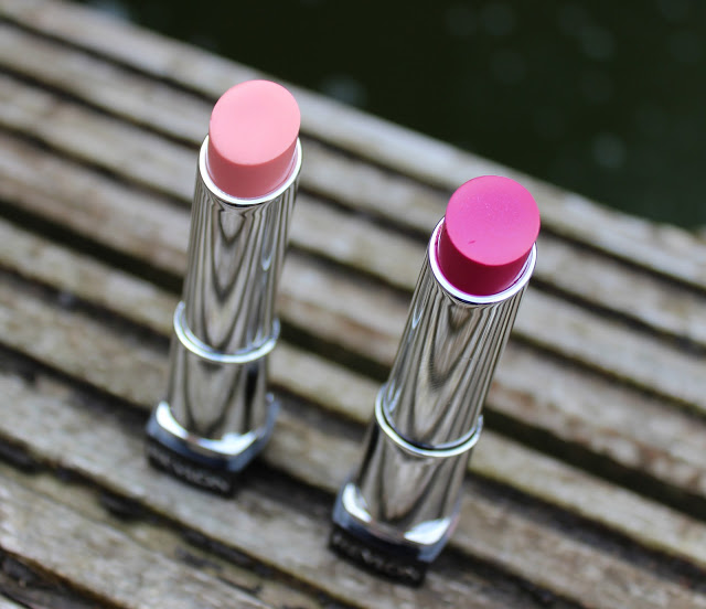 a picture of the colours of revlon lip butter pink lemonade and lollipop