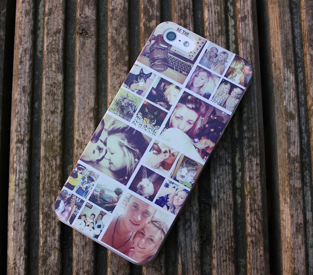a picture of personalised casetagram iphone 5 phone case