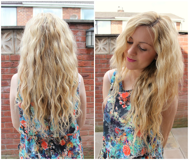 through chelseas eyes wearing 20 inch clip hair clip in double wefted hair extensions colour blonde mix 16/613