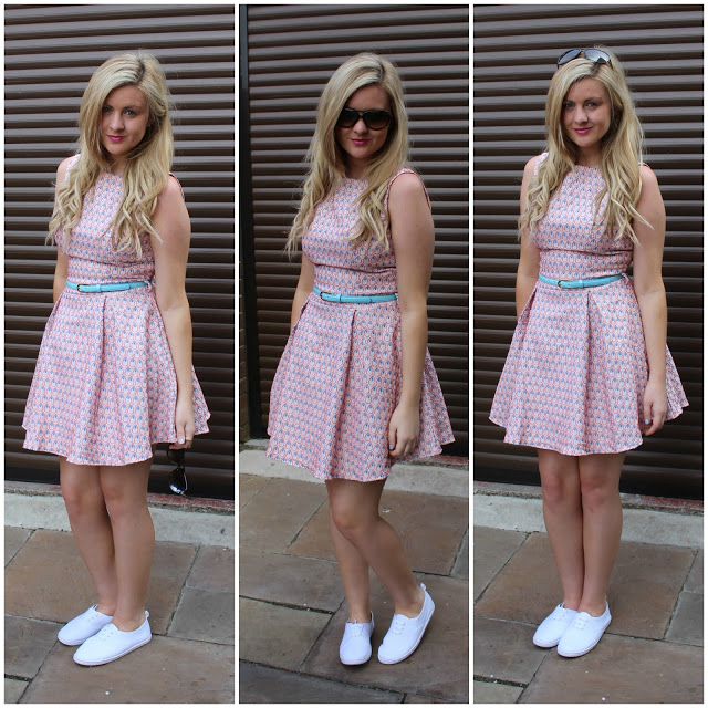 Little Mistress Skater Dress, skater dress, through chelseas eyes, sun dress