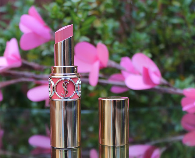 YSL Peach Passion Lipstick Review