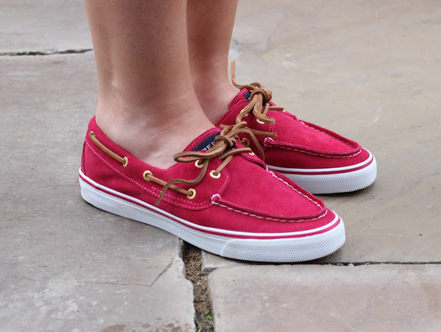 through chelseas eyes, sperry boat shoes, deck shoes, sperry
