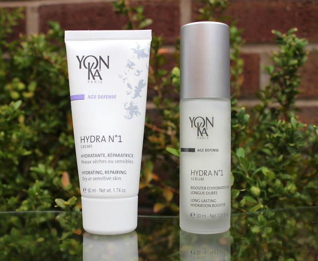 yonka hydra no1 serum, yonka hydra no1 creme, yonka, skin care, natural skin care, yonka hydra no1, review, through chelsea's eyes,