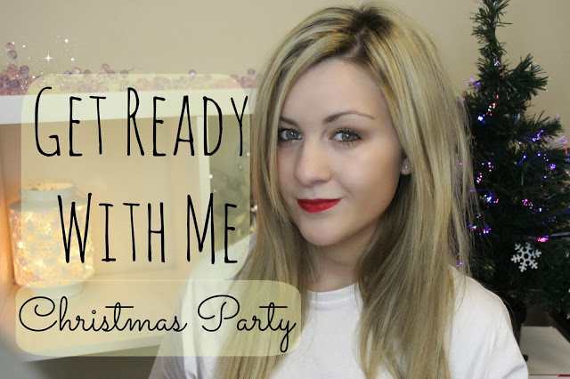 british youtubers, youtube, get ready with me, grwm, christmas party, get ready with me Christmas party, christmas party look, through chelsea's eyes,