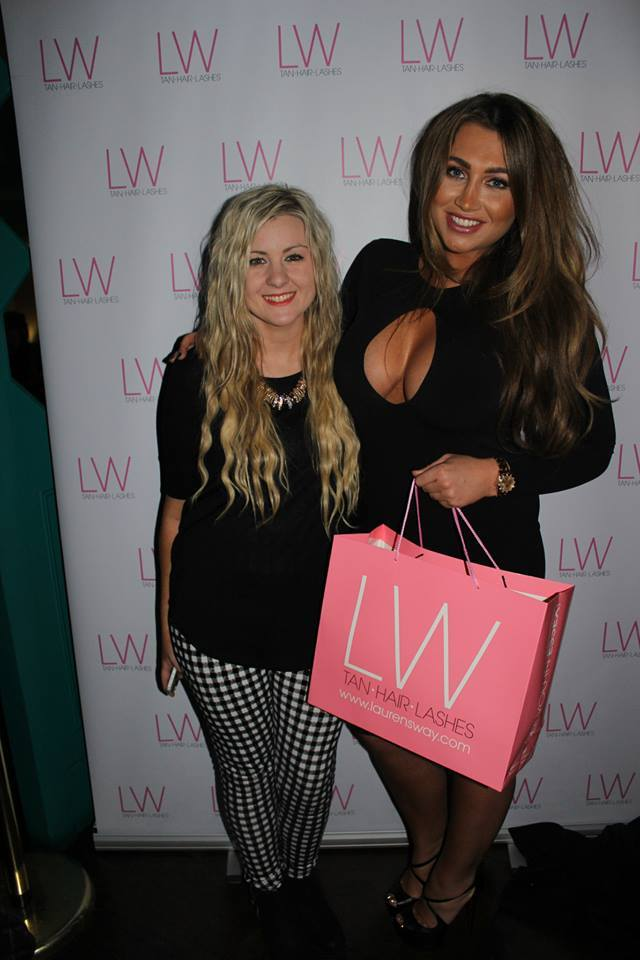 Laurens way darker than dark launch event, lauren goodger, Laurens way event, darker than dark glam tan, blogger event, through chelsea's eyes,