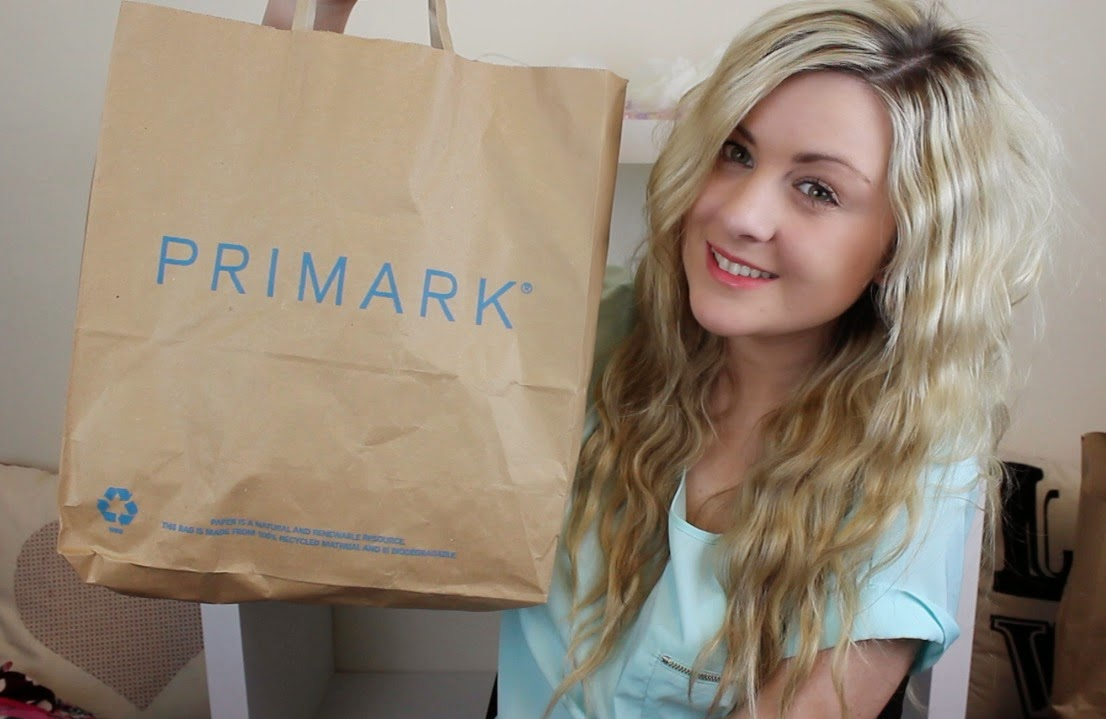 primark, primark haul, spring/summer primark haul, primark haul 2014, through chelsea's eyes,