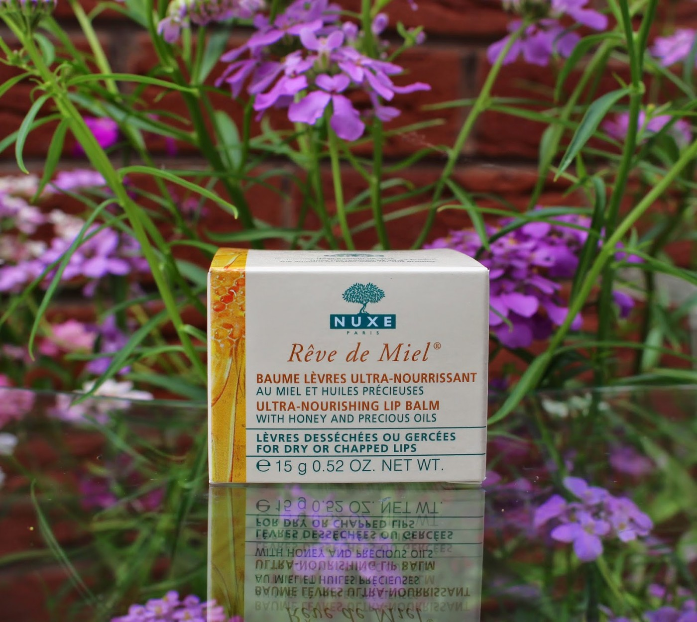 nuxe reve de miel, french pharmacy, nuxe, lip balm, dry lip savour, review, through chelsea's eyes,