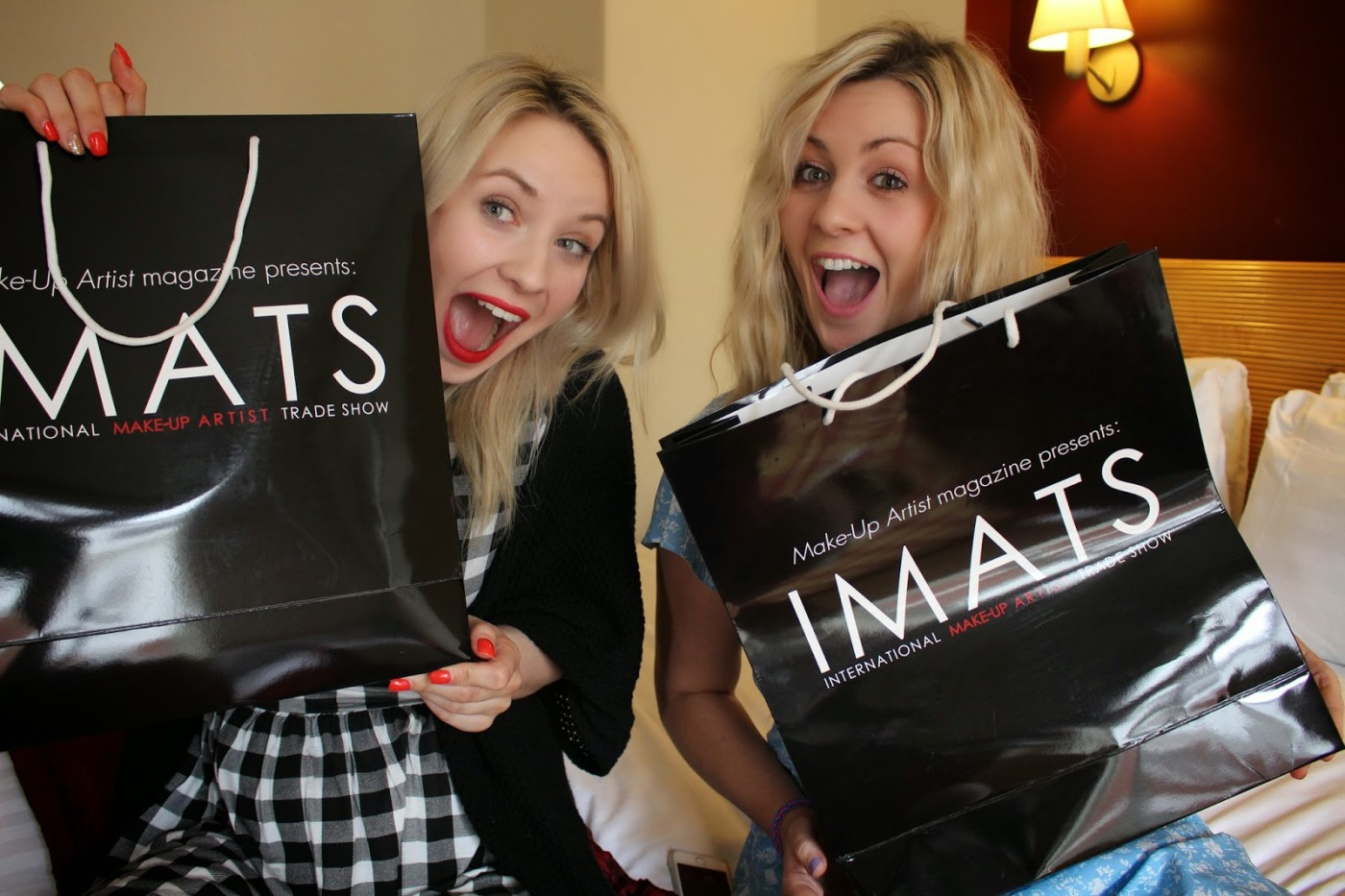 imats haul, confessions of a youtuber tag, its simply beauty & through chelseas eyes, Tash & Chels