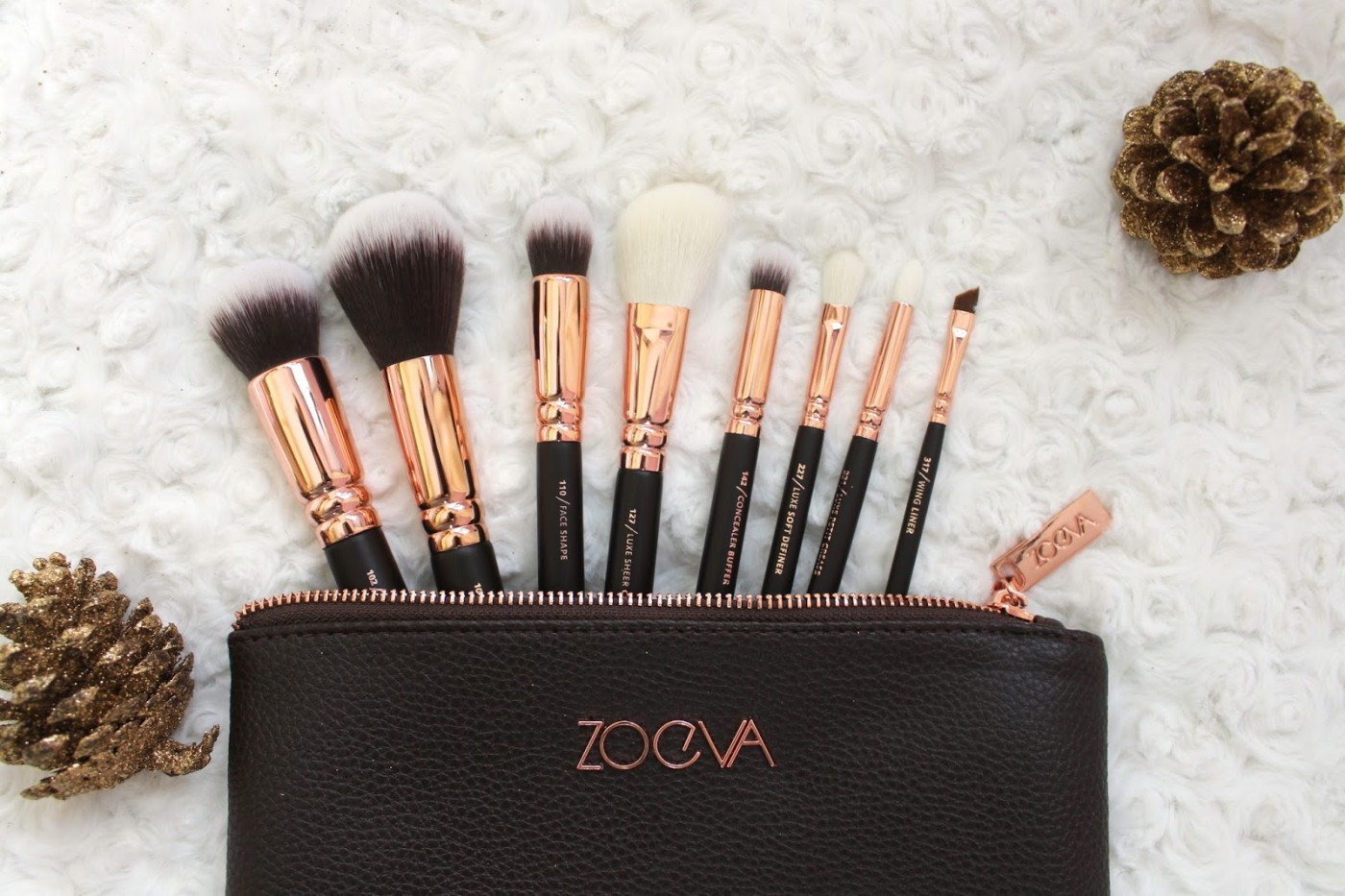 Zoeva Rose Gold Luxury Brush Set Review