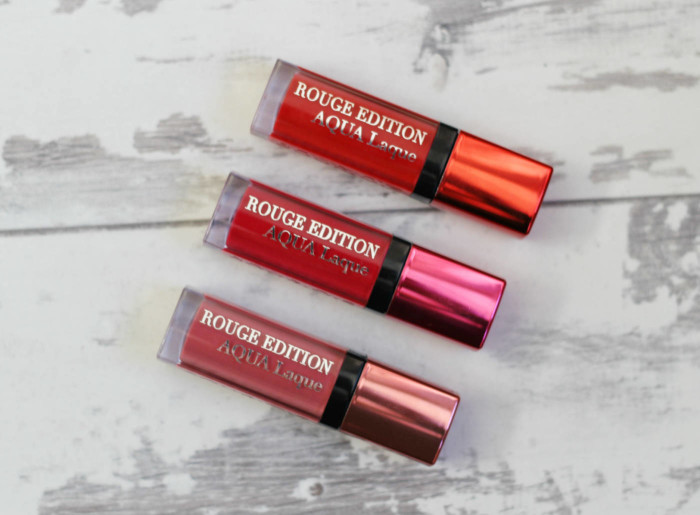 Bourjois Rouge Edition Aqua Laque Liquid Lipsticks