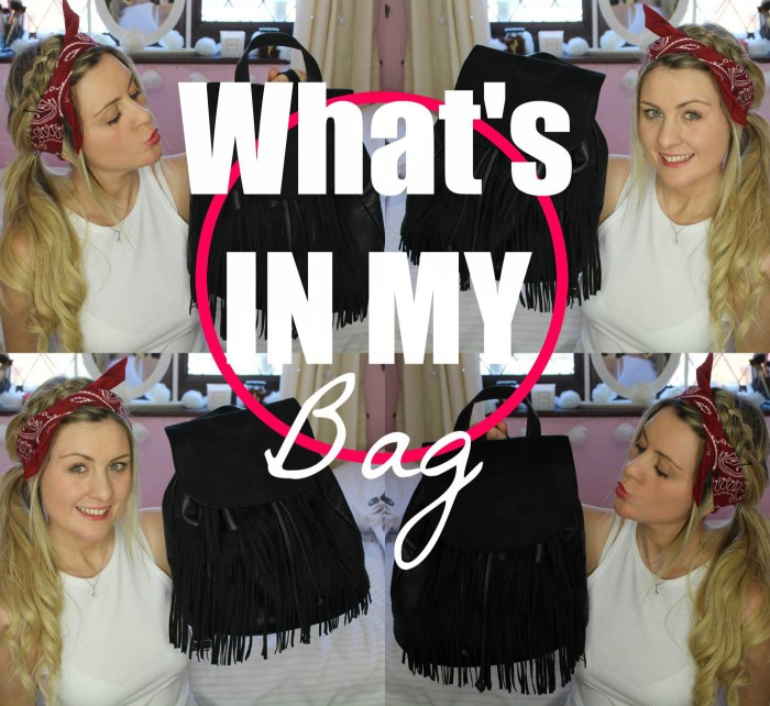 whats in my bag chelsea yates