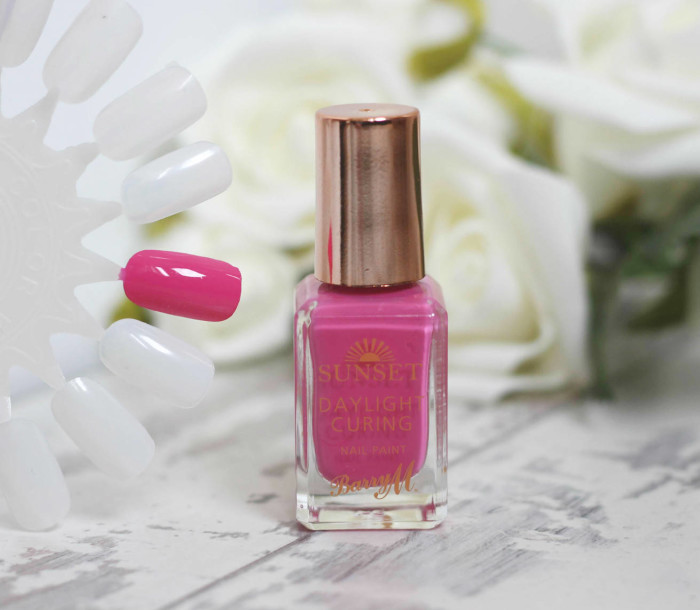 Barry M Daylight Curing Nail Polishes in 'I've Been Pinkin'