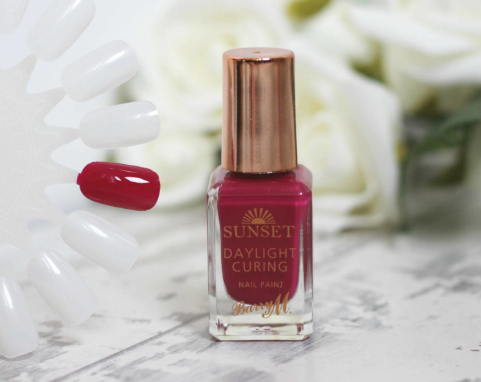 Barry M Daylight Curing Nail Polishes in 'Fuchsia Generation'