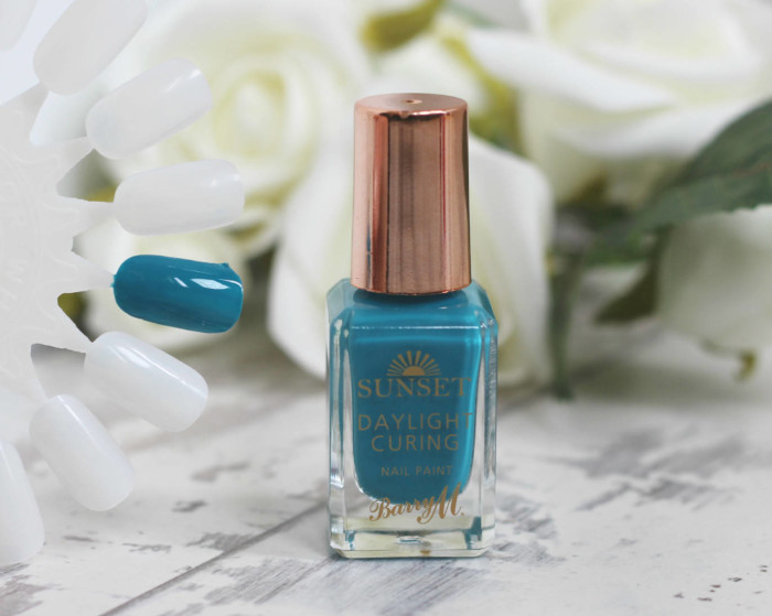 Barry M Daylight Curing Nail Polishes in 'The Way You Make me Teal'