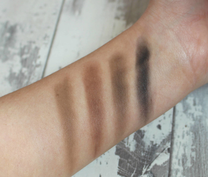 hi impact brow swatches