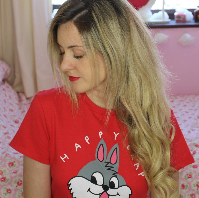 wearing chloe's hair extensions