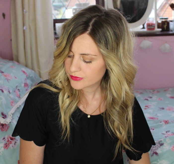 make up using Too Faced Cocoa Contour Palette
