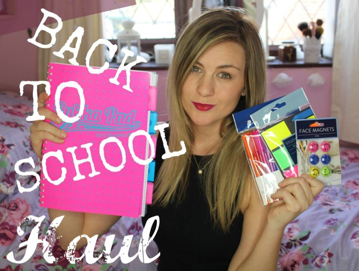 back to school stationary haul