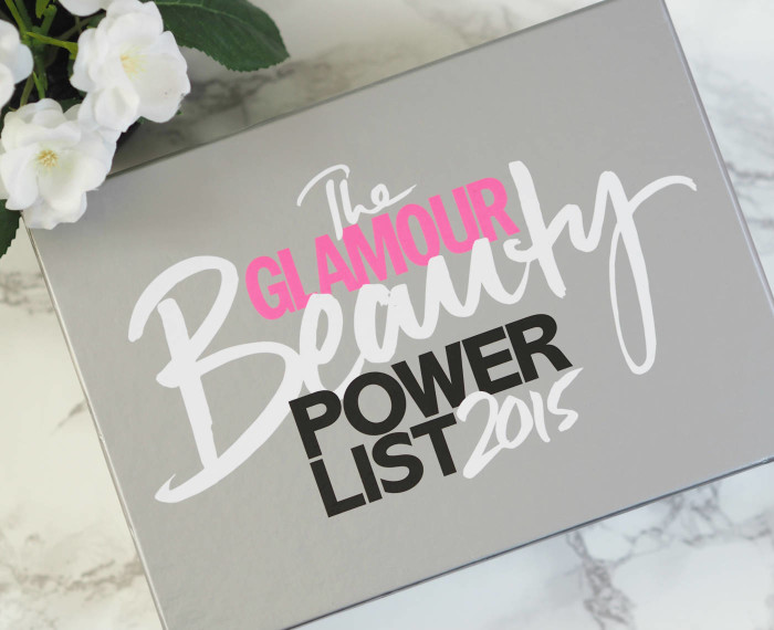 Latest In Beauty Glamour Beauty Power List 2015 Box