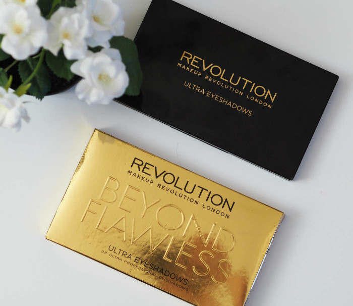 Makeup Revolution Ultra Eyeshadows Beyond Flawless Palette