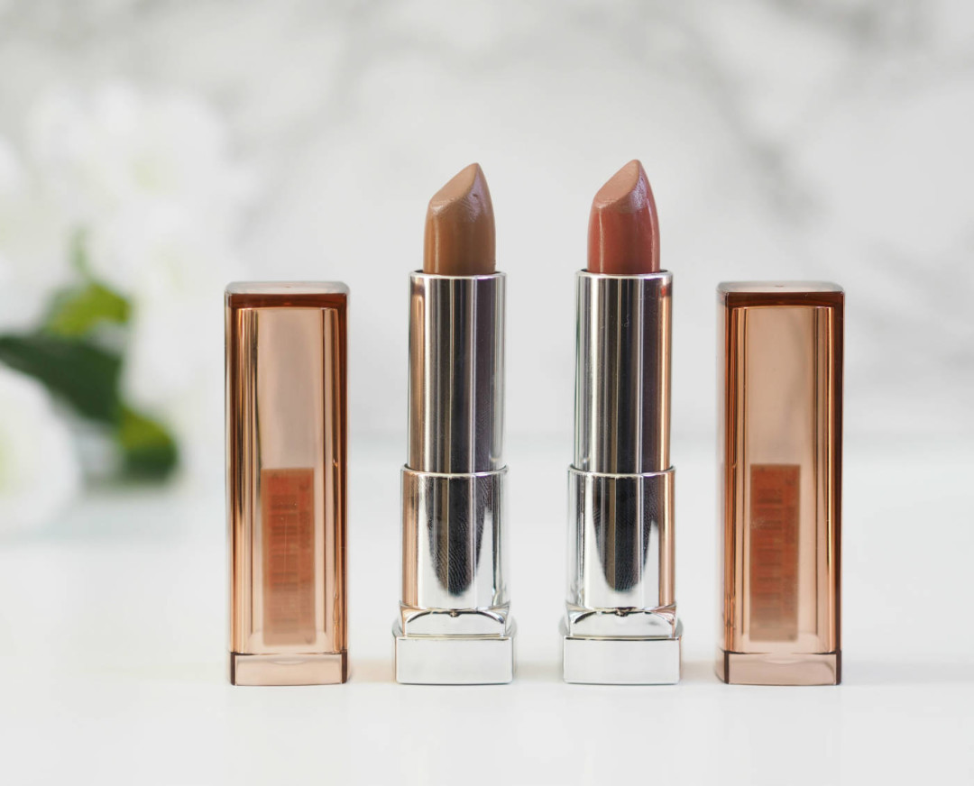 Maybelline Creamy Matte Brown Nudes Review, Swatches