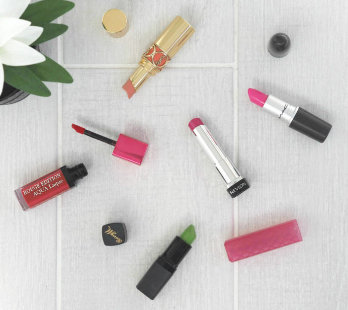 My Favourite 5 Spring Pink Lipsticks