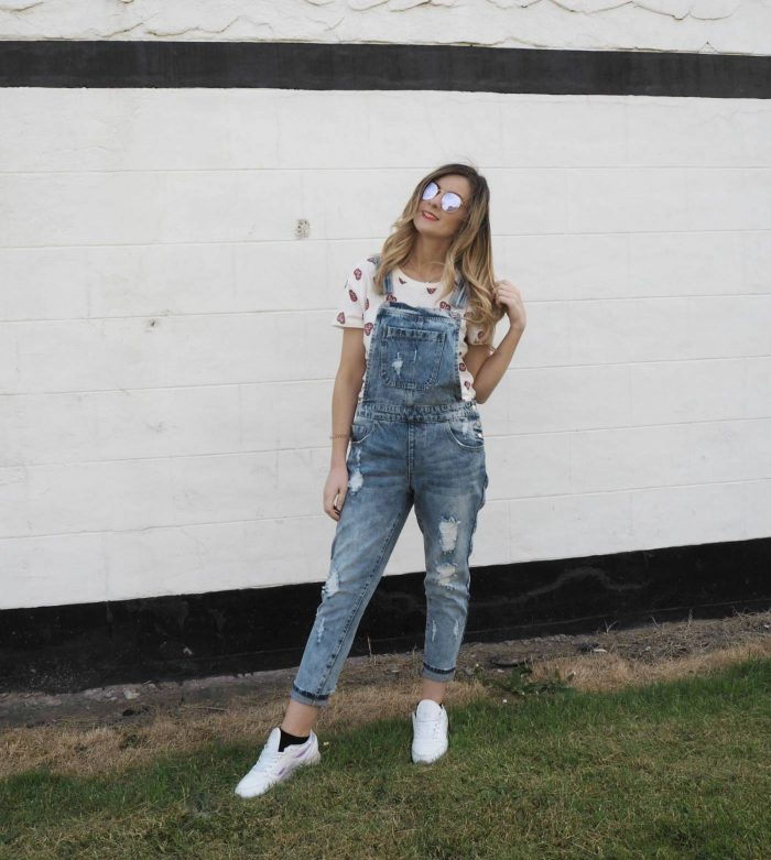 How To Style Denim Dungarees