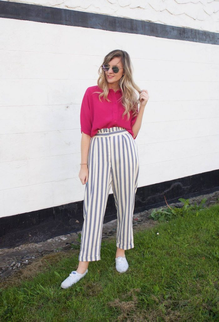 How to Style Stripes